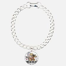 Parkinsons Puppy Group Charm Bracelet, One Charm