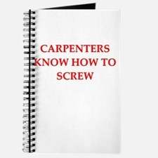 caroenter gifts and t-shirts Journal