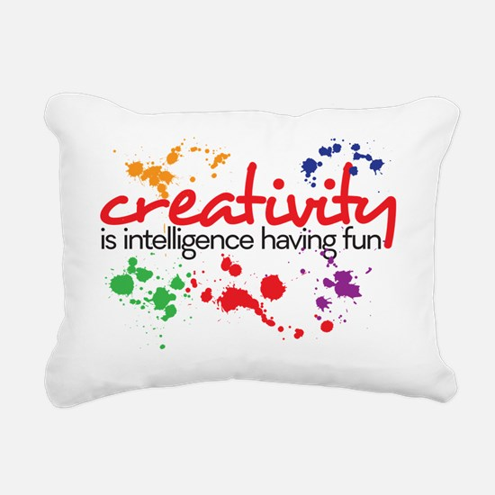creativity Rectangular Canvas Pillow
