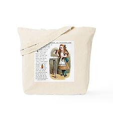 Alice in Wonderlan Drink Me Tote Bag