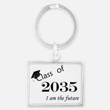Born in 2013/Class of 2035 Landscape Keychain