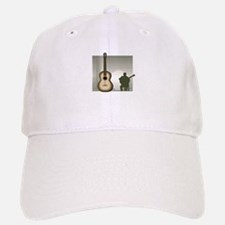 acoustic guitar player sitting brown Baseball Baseball Baseball Cap