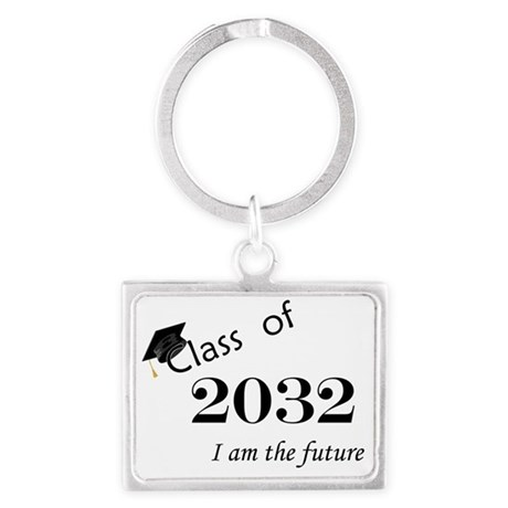 Born in 2014/Class of 2032 Landscape Keychain