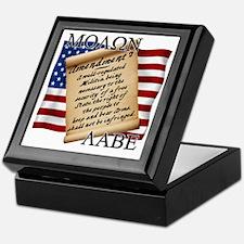 Second Amendment 2 Dark Keepsake Box