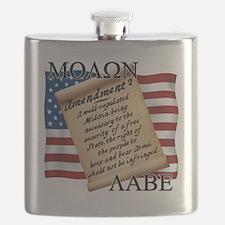 Second Amendment 2 Dark Flask