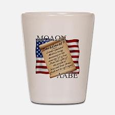 Second Amendment 2 Dark Shot Glass