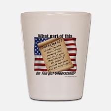 Second Amendment 1 Shot Glass
