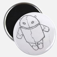 Android in flight Magnet
