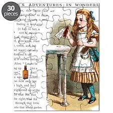 Alice in Wonderland Drink Me Puzzle