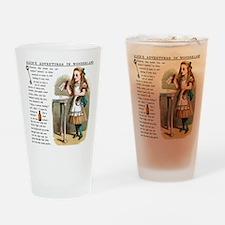 Alice in Wonderland Drink Me Drinking Glass