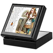 Alice in Wonderland Drink Me Keepsake Box