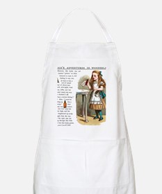 Alice in Wonderland Drink Me Apron