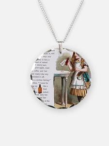 Alice in Wonderland Drink Me Necklace