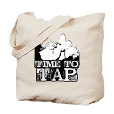 Time To Tap Tote Bag