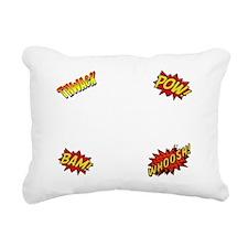 Comics Are Better Than W Rectangular Canvas Pillow