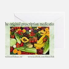 Original Medication Greeting Card