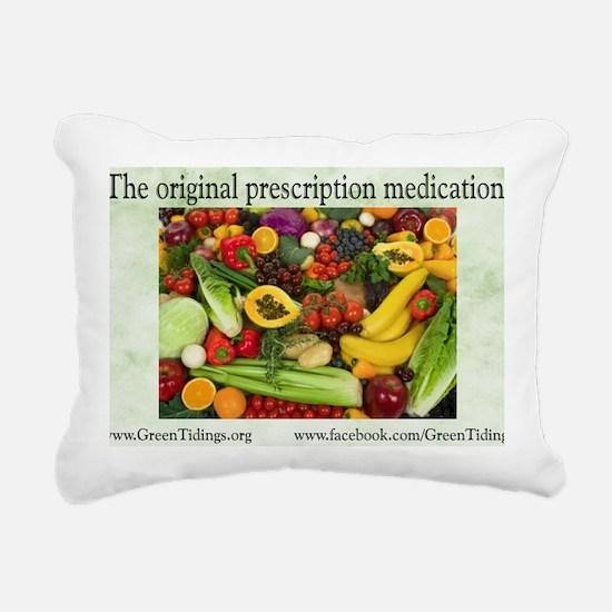 Original Medication Rectangular Canvas Pillow