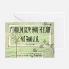 Medicine From The Earth Greeting Card