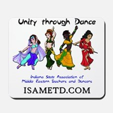 ISAMETD - Unity Through Dance Mousepad