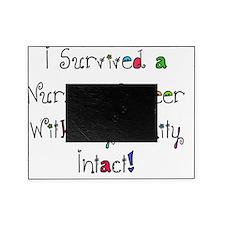 i survived nursing WORDS Picture Frame