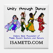 ISAMETD - Unity Through Dance Tile Coaster