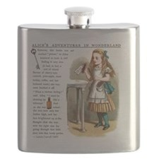 Alice in Wonderlan Drink Me Flask