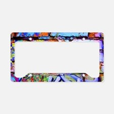 The Wow Abstract Wall License Plate Holder