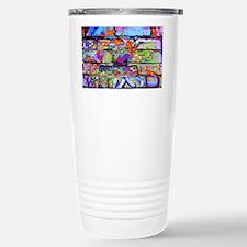 The Wow Abstract Wall Travel Mug
