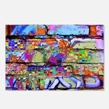 The Wow Abstract Wall Postcards (Package of 8)