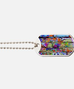 The Wow Abstract Wall Dog Tags