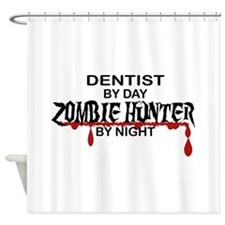 Zombie Hunter - Dentist Shower Curtain