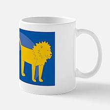 Lion Cocktail Platter Mug