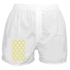 Bright Yellow Polkadot Boxer Shorts
