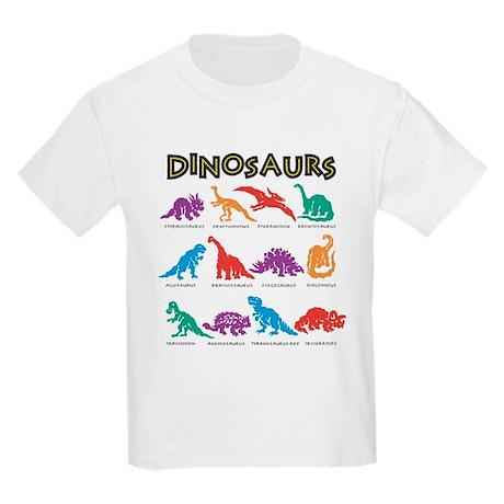 Dinosaurs1 Kids Light T-Shirt