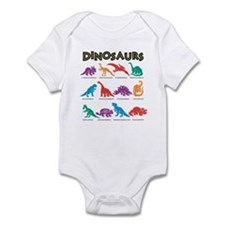 Dinosaurs1 Infant Bodysuit