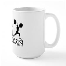 Evolution (Man Weightlifting) Mug