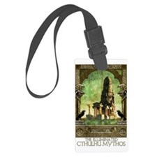 Lovecraft - Seven Cryptical Book Luggage Tag