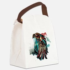brave eagle Canvas Lunch Bag