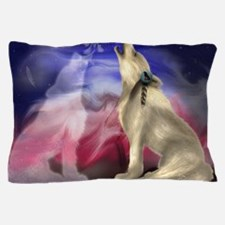 wolf love Pillow Case