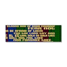 Deuteronomy 31 6 Bible Verse Car Magnet 10 x 3