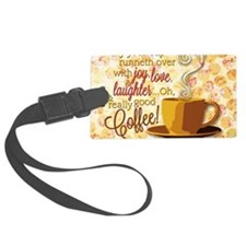 Coffee Luggage Tag