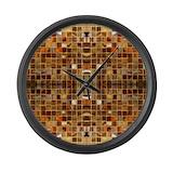 Brown Giant Clocks