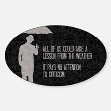 Weather Decal