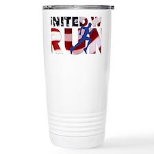 United We Run Travel Coffee Mug