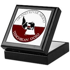 Grand River Aikido - Red and White -  Keepsake Box