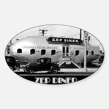 Zep Diner Decal