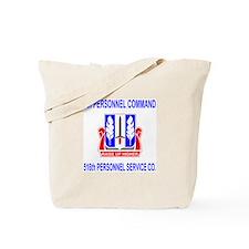 516th Personnel Service Co Tote Bag