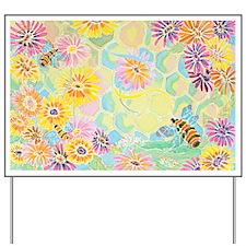 Bumble Bee Paradise Yard Sign