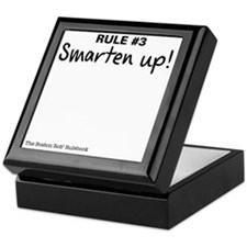Rule #3 - Smarten up! Keepsake Box