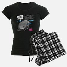 Lady CD Mustached Manatee Pajamas